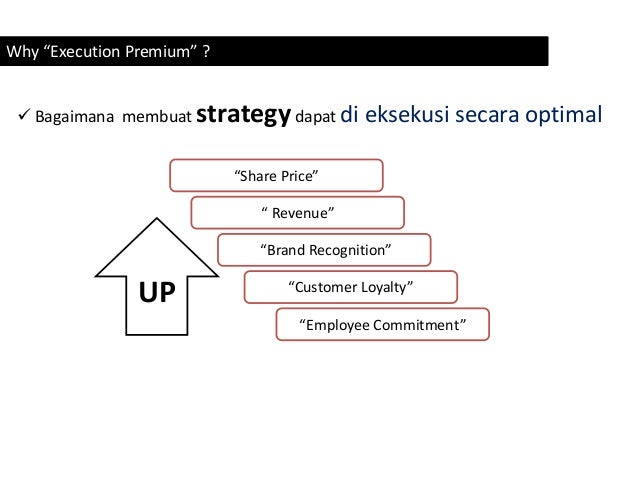 The execution premium operations 4 why execution premium fandeluxe Choice Image