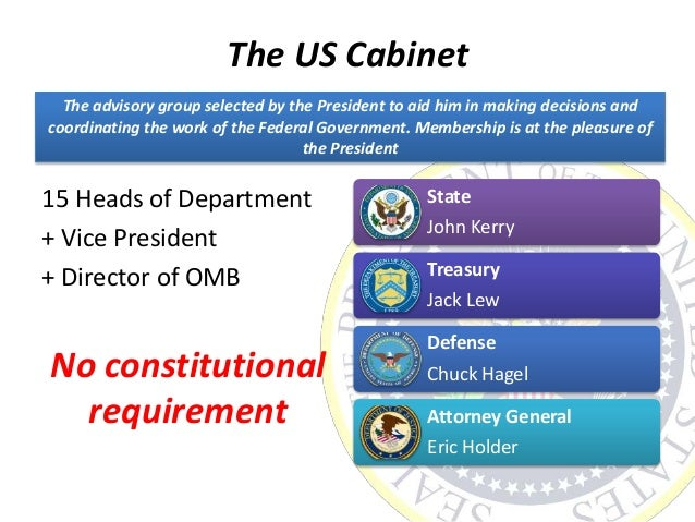 The executive branch the presidency