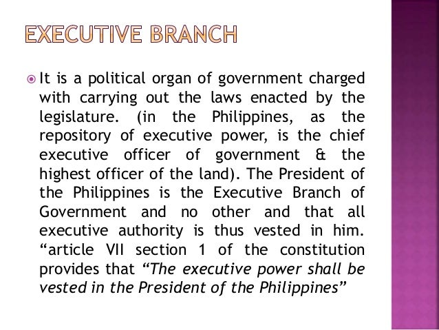 the executive branch 2 essay Explanation of the three branches of government, the roles of the legislative,  the president is the head of the executive branch, which makes laws official the .