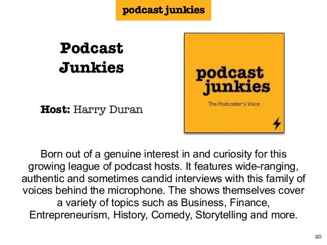The Incredibly Exhaustive List of Podcasts About Podcasting