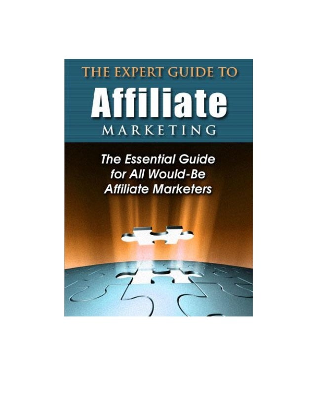 The Expert Guide to Affiliate Marketing - 1 -