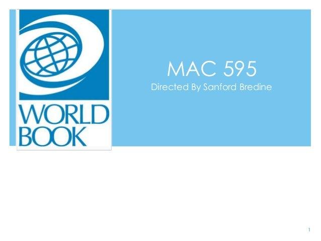 MAC 595Directed By Sanford Bredine1