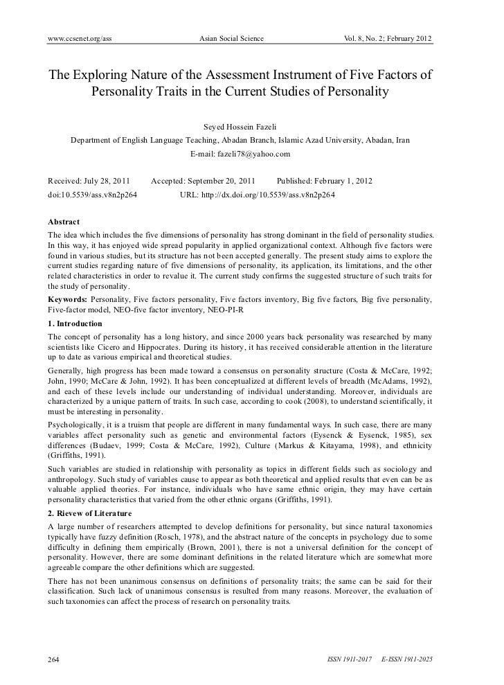 www.ccsenet.org/ass                           Asian Social Science                        Vol. 8, No. 2; February 2012The ...