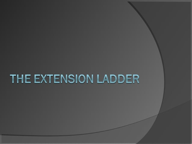 Extension ladders are generally ahelpful construction tool, and tendto be distinctive from some otherladders mainly becaus...