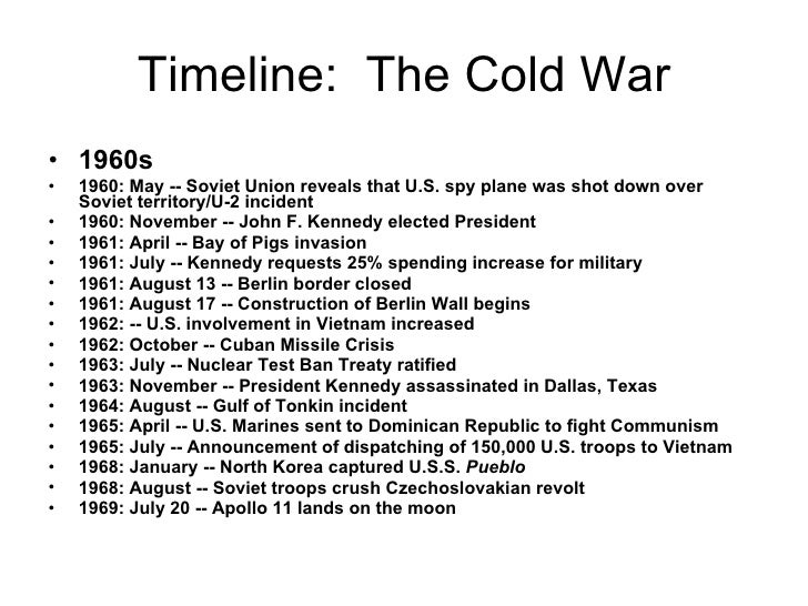 the events that led to the cold war Events leading up to the end of the cold war, a timeline made with timetoast's free interactive timeline making software.