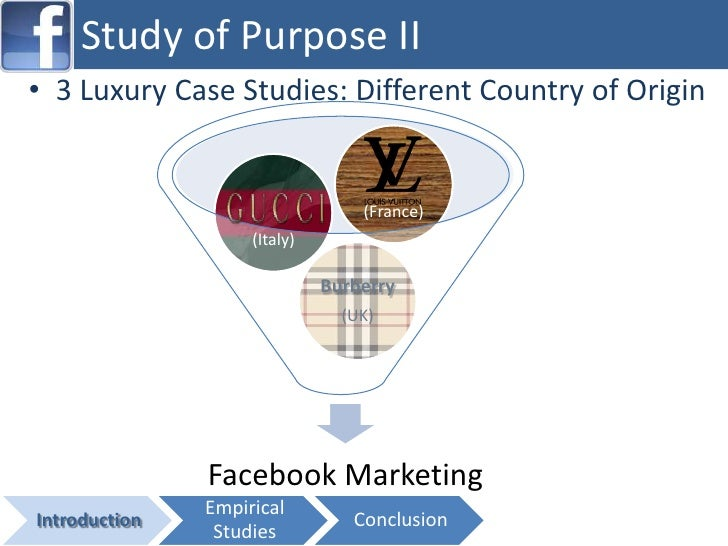 luxury brand case studies Luxury goods & china: a case study  ann langlois  palm beach atlantic university   this increased growth increases the consumption of luxury goods among the burgeoning upper and middle-  articulate the need for brand awareness in the chinese luxury market segment.