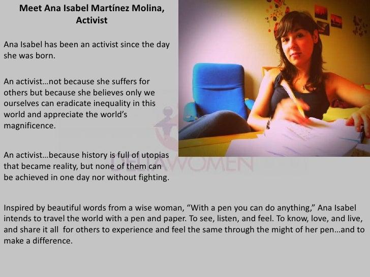 The faces of deltawomen online volunteers Slide 3