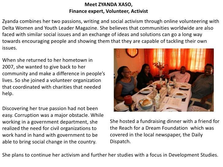 The faces of deltawomen online volunteers v2 Slide 2