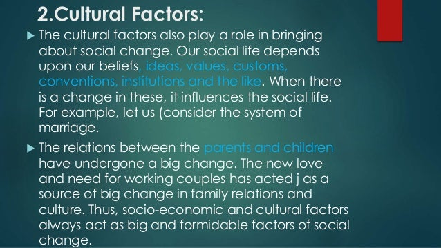 how changes in the social institution of family reflect major changes in society He has regarded technology as a sole explanation of social changewf ogburn says technology changes society by changing our environment to which we in turn adapt these changes are usually in the material environment and the adjustment that we make with these changes often modifies customs and social institutions.