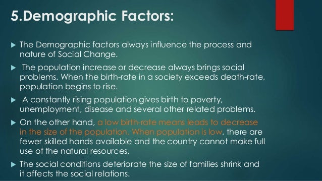 Six factors that influence birth rates in poor countries essay
