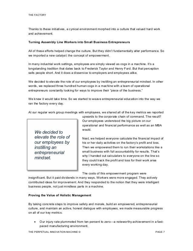 Management accounting dissertation