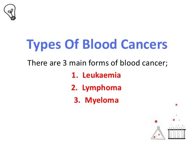 blood cancer essay research Overview: introduction to cancer   screening test approved for viruses that cause blood cancer   research suggests  male breast cancer is different.