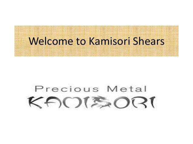 Welcome to Kamisori Shears