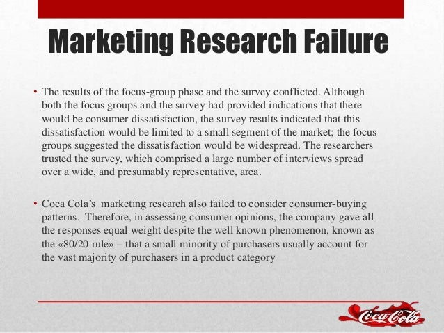 failure of the new coke case Introducing new coke case solution,introducing new coke case analysis, introducing new coke case study solution, question 03: what was the meaning strategy used by pepsi  some of the reason that led to the failure of new coke was the fact that when the company decided to launch new cokes so they never communicated the reason for this change.