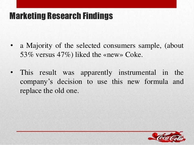 """new coke failure essay Free essay: hbr: """"introducing new coke case"""": discussion  ans: the major  factor of the failure to new coke launch, in my opinion, was not."""