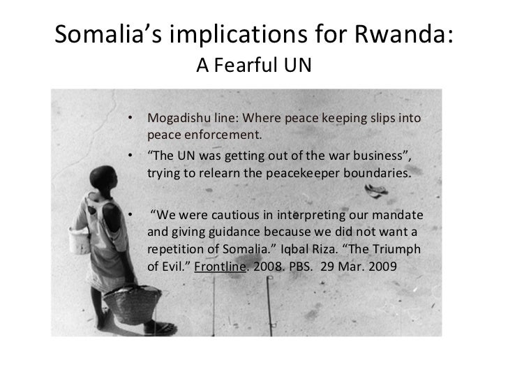 un failure However, after the holocaust in 1945, the united nations was given more resources and power to prevent further genocides in 1994-rwanda, they had the opportunity to stop a genocide the rwandan genocide would have been very easy to stop.
