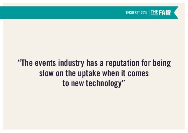 Event Tech The Horizon Slide 3