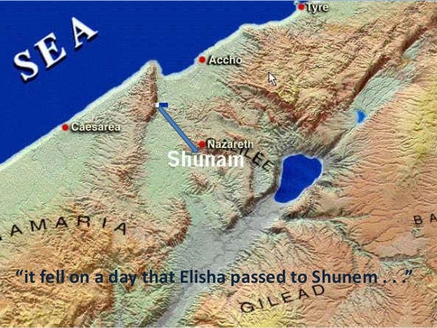 It Fell On A Day That Elisha Passed To Shunem
