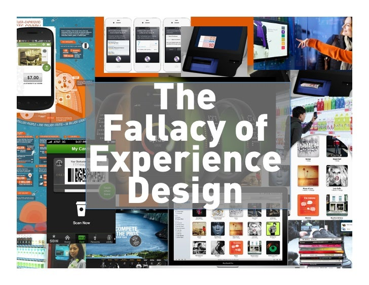 The                                             Fallacy of                                            Experience          ...
