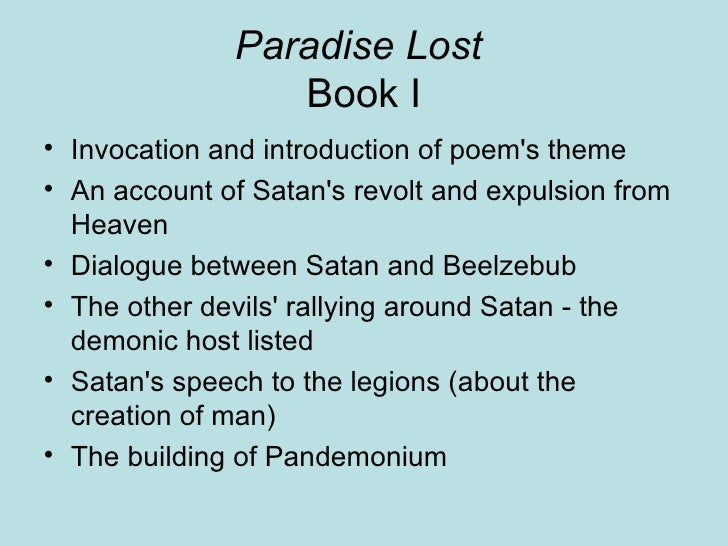 paradise lost book 2 summary