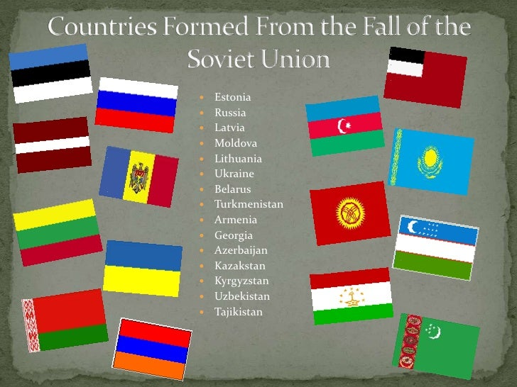 fall of the soviet union essay The fall of communism in russia/soviet union essay 1460 words | 6 pages already impoverished state however after the war, national unity was improved and the soviet.
