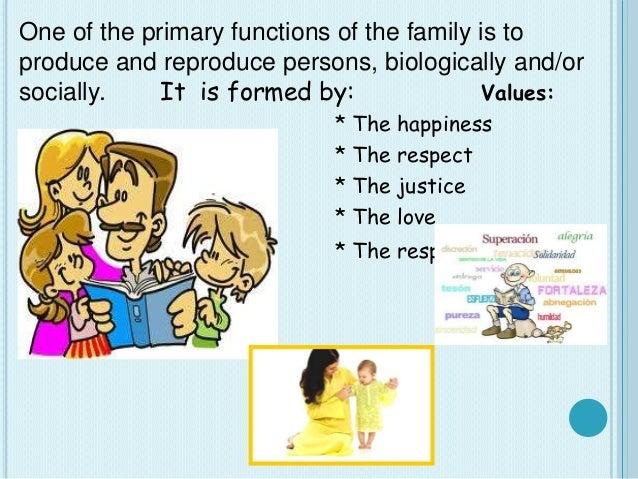 The family Slide 3