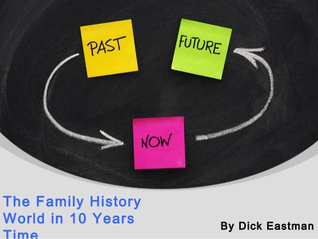 The Family History World in 10 Years By Dick Eastman