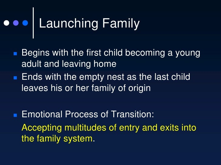 stages of family life cycle Chapter overview this chapter addresses family life cycle theory, which seeks to explain how a family changes over time the theory is that each family experiences.