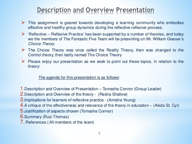 2  This assignment is geared towards developing a learning community who embodies effective and healthy group dynamics du...