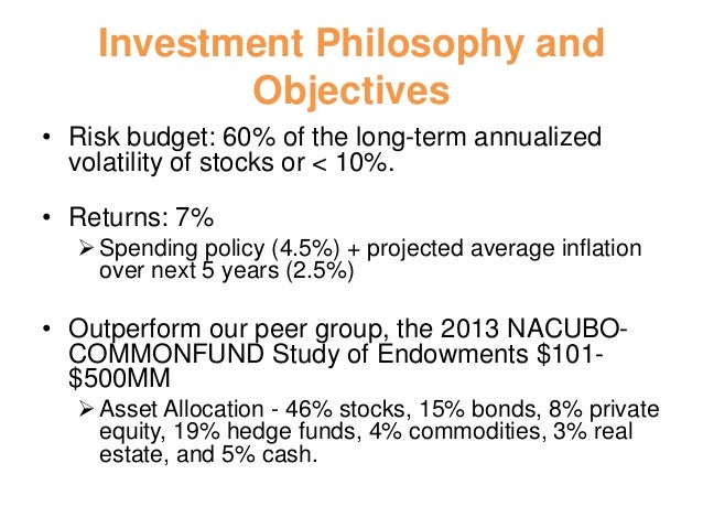 Multi asset trading strategies