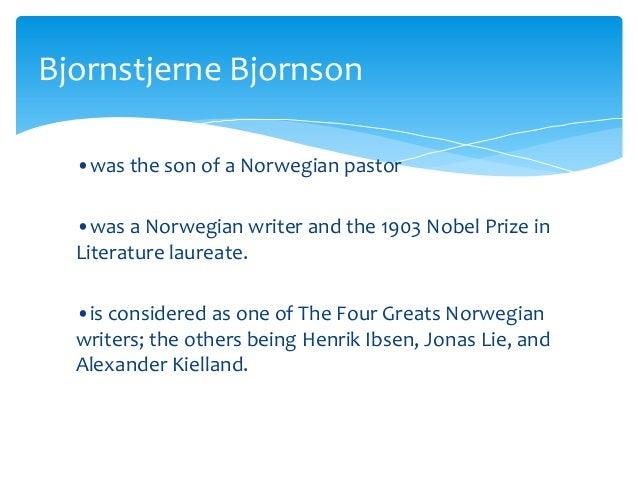 The father by bjornstjerne bjornson literary analysis