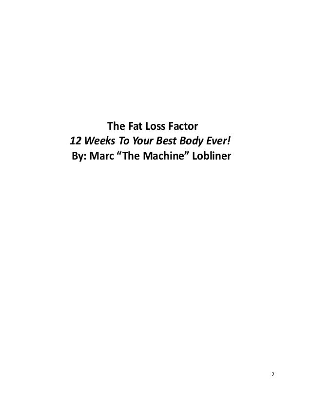 The fat loss factor program review pdf ebook free 30 pages 1 2 the fat fandeluxe Images