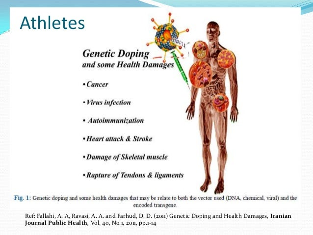 The fears for genetically modified athletes!