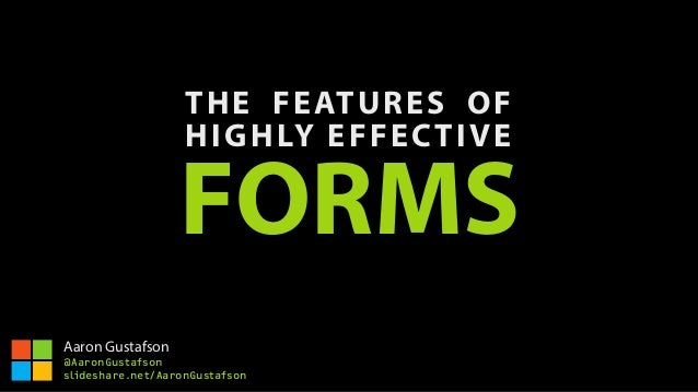 THE FEATURES OF