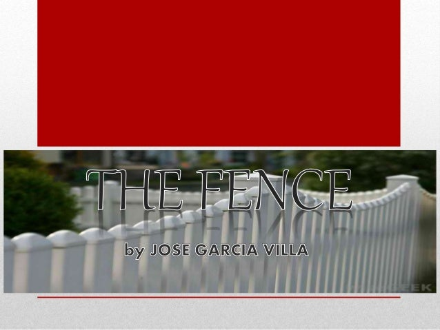 the fence by jose garcia villa whole story pdf-adds 14