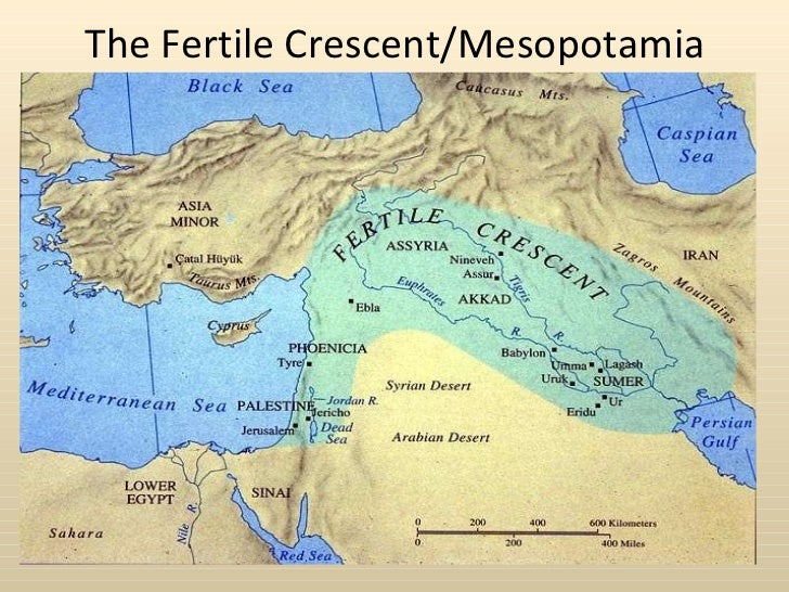 The Fertile Crescent/Mesopotamia
