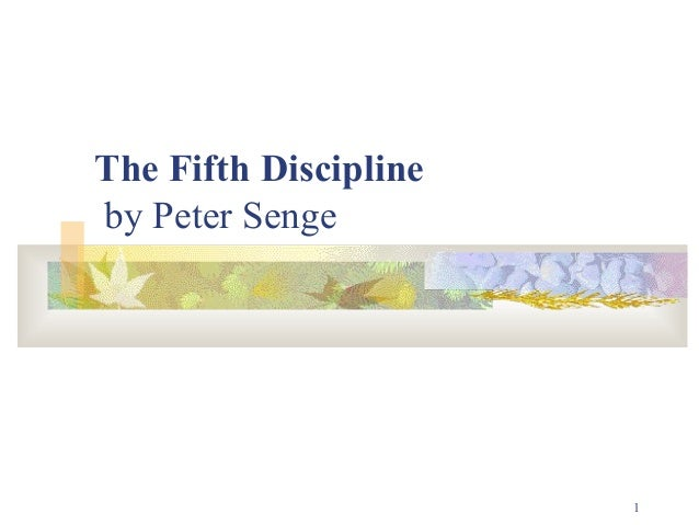1The Fifth Disciplineby Peter Senge
