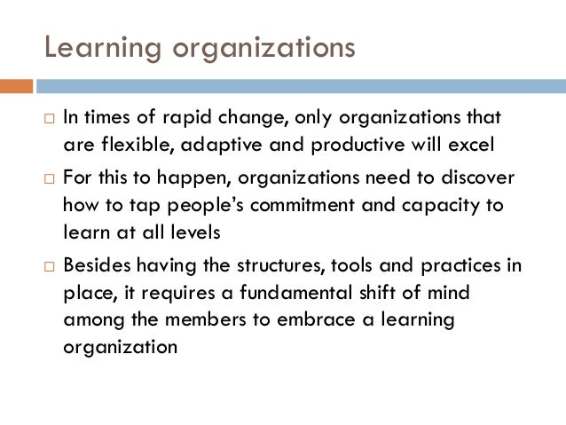 peter senges five disciplines essay In this getabstract summary, you will learn: how learning organizations function  which five disciplines nurture organizational learning how to think in terms of.
