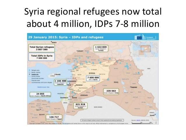 In Iraq, problem is internal displacement