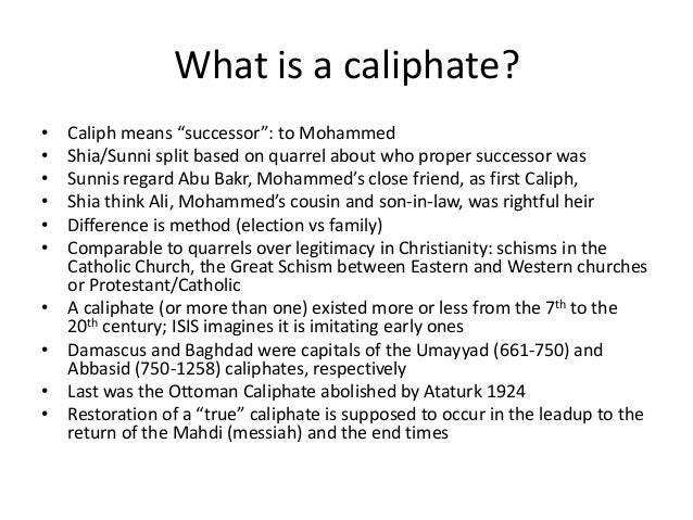 What is life like under in the ISIS caliphate? • Strict practices: women cover (niqab), no smoking, Sharia, purifying viol...
