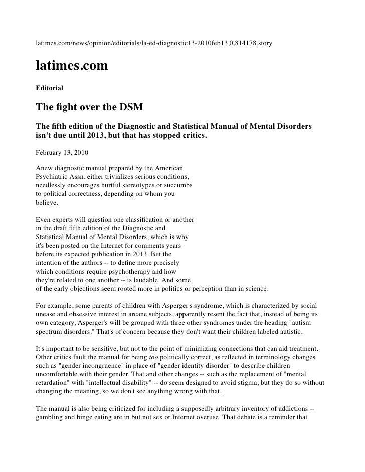 latimes.com/news/opinion/editorials/la-ed-diagnostic13-2010feb13,0,814178.story   latimes.com Editorial  The fight over the...