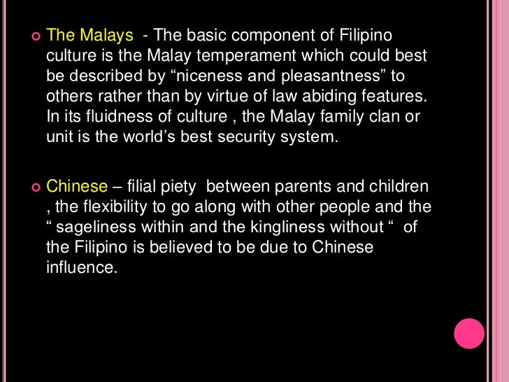 Society And Culture The Filipino Values And Culture