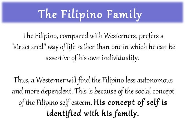 the filipino way of life How did the chinese influence the filipino way of life aside from the things listed below, most filipinos now are good business persons they now adopt a low earning but fast recovery of capital.