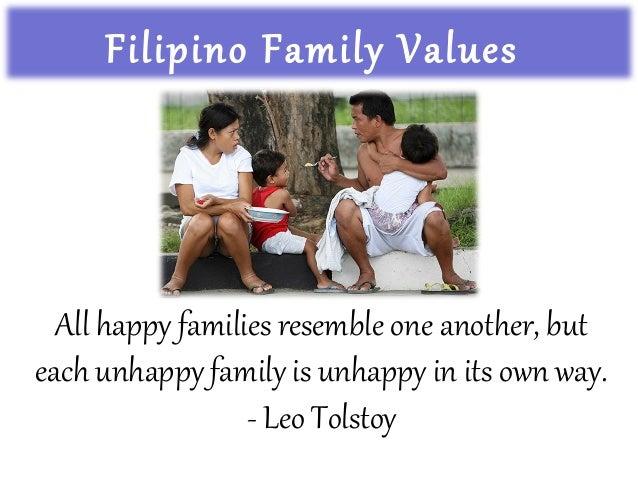 filipino family values
