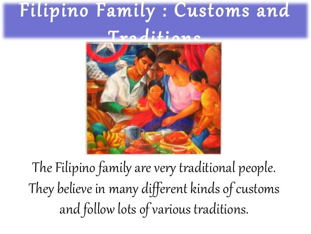 Filipino dating culture parents