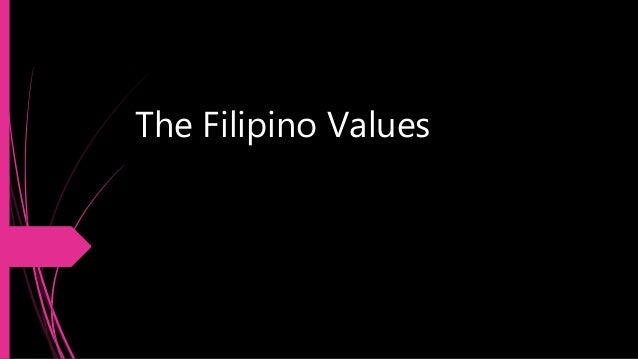 reaction regarding filipino values An outline of different cultural beliefs at the time of death living in a society represented by many cultures and religious beliefs means that memorable events can be celebrated differently.