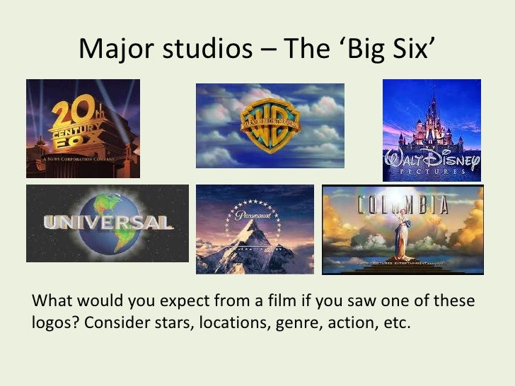 The film industry overview lesson slides