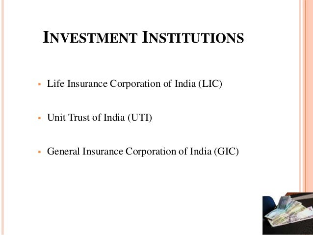 Investment institutions in india ganancias forex hacienda