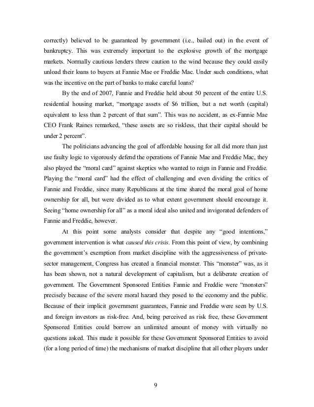 financial crisis 2009 essay How to write an essay about financial crisis academic definition of a financial crisis and everything a student needs to know about financial essay writing.