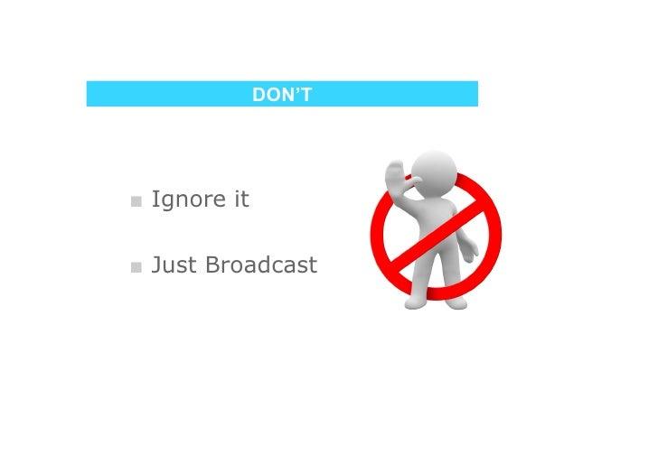 DO     ■ Listen  ■ Engage
